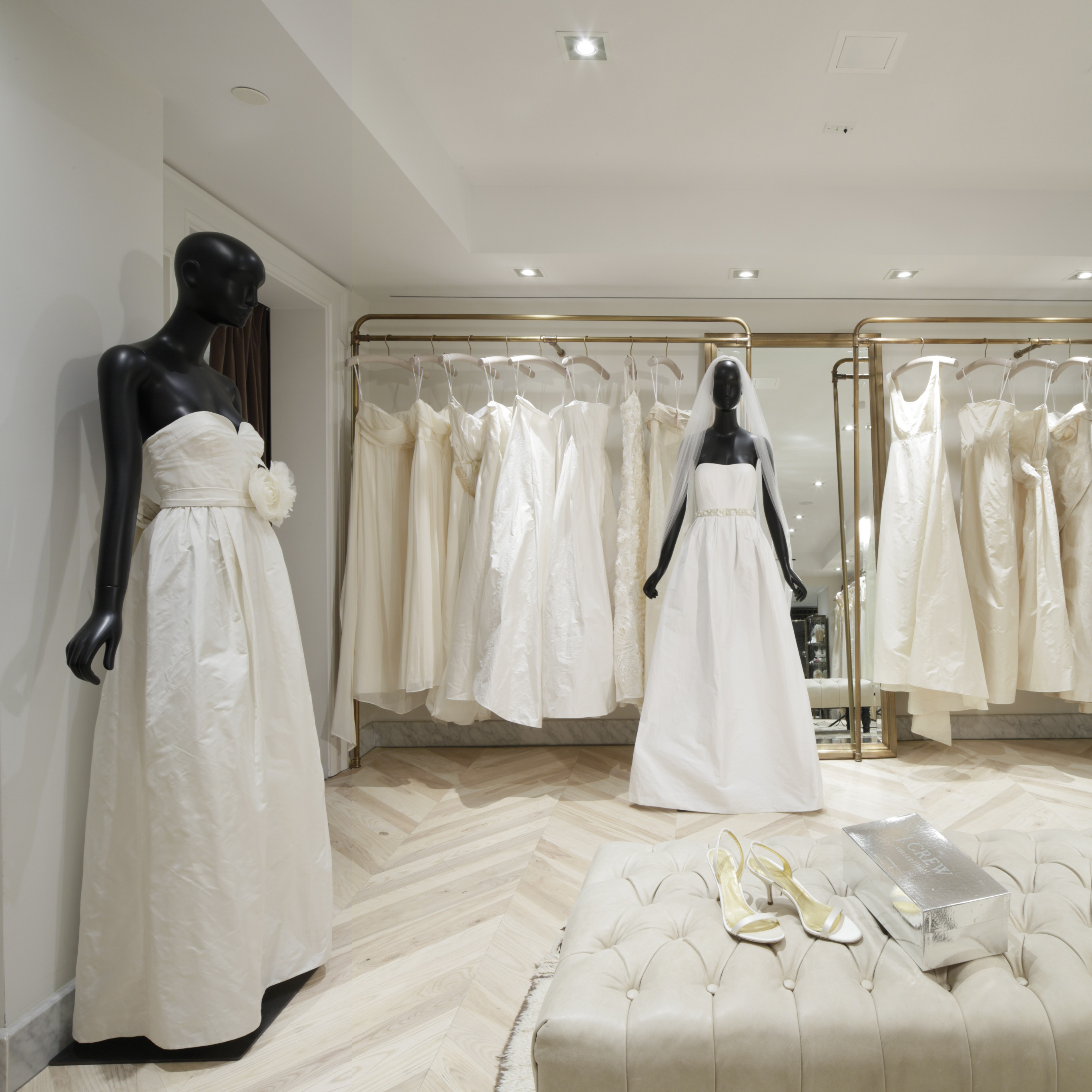 Inside the J.Crew Bridal Boutique