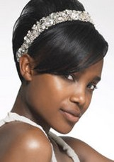 short hair options for brides