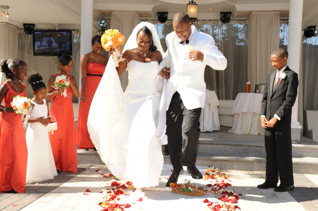 The Spencers jump the broom in a fab and fun New York affair!