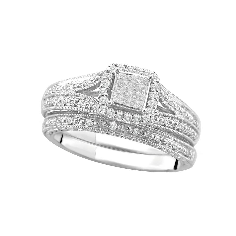 bands set platinum forever diamond eternity band in princess channel zoom