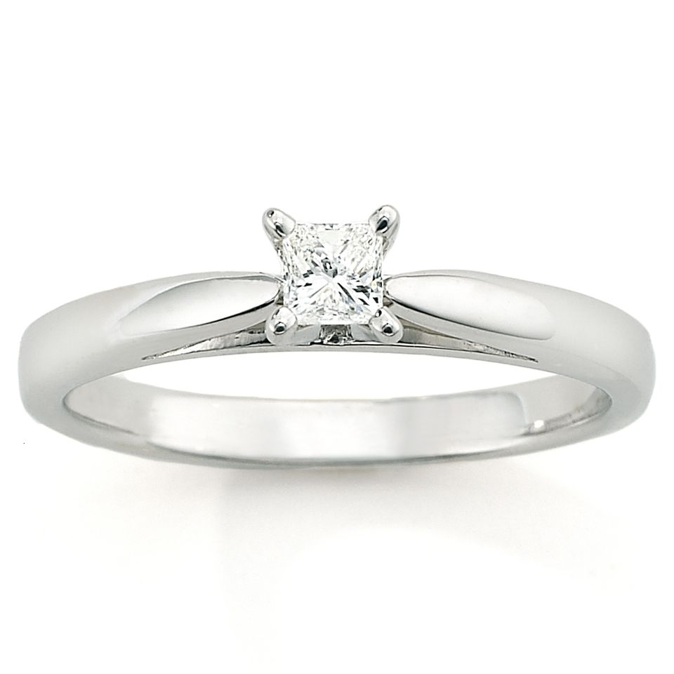 Platinaire 1/5 Carat T.W. Engagement Ring, $198