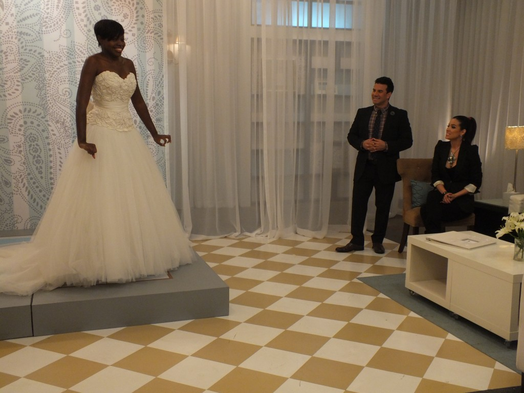 Fashion Friday – Style Expert Sam Saboura on Wedding Dress Shopping