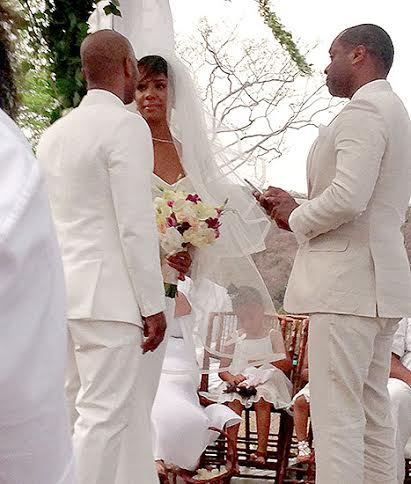 Tie the Knot Tuesday (Celeb Edition): Kelly Rowland is ... Kelly Rowland Tim Witherspoon Wedding