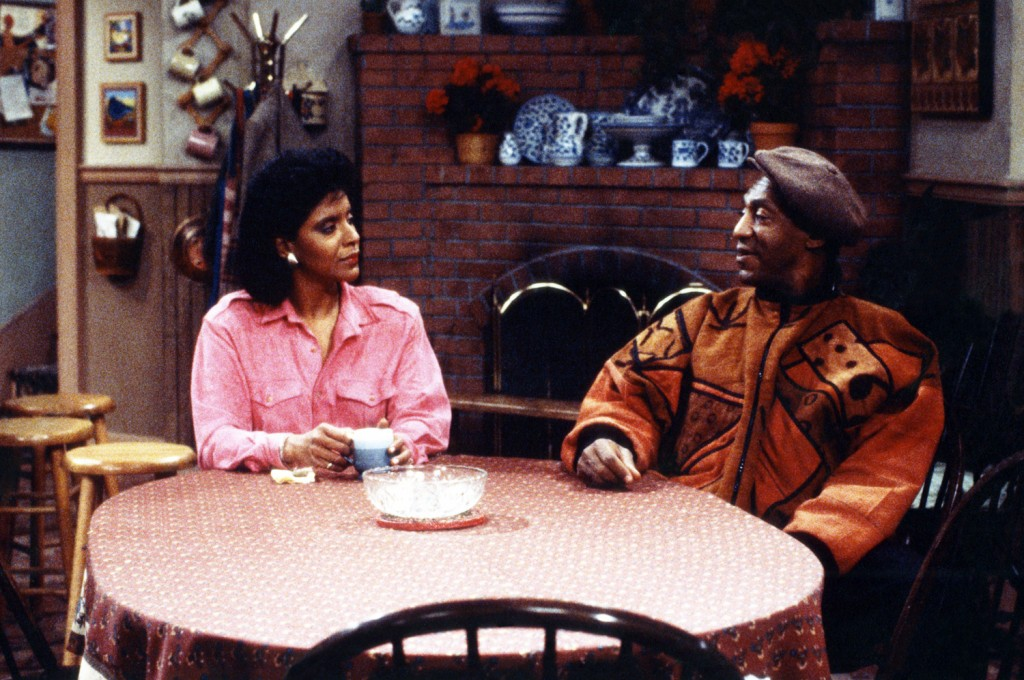 A snapshot of my childhood: Phylicia Rashad as Clair Hanks Huxtable, Bill Cosby as Dr. Heathcliff 'Cliff' Huxtable.