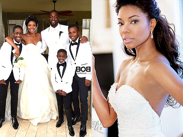 Tie the knot tuesday celeb edition gabrielle union dwyane wade junglespirit Gallery