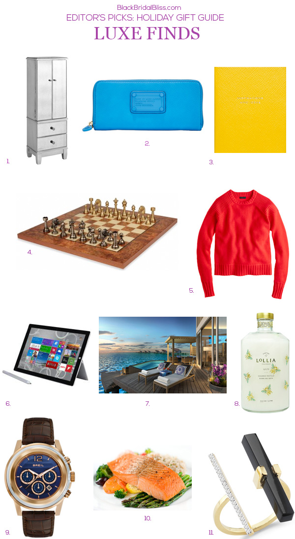 HOLIDAY GIFT GUIDE LUXE FINDS