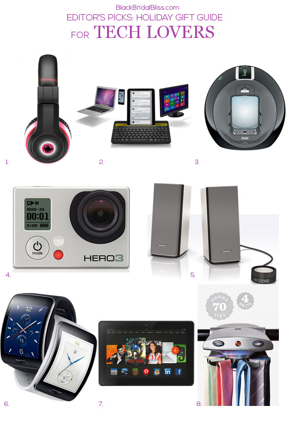 HOLIDAY GIFT GUIDE FOR TECH LOVERS