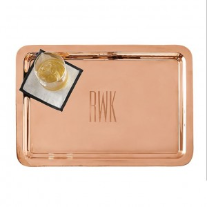 Personalized Copper Tray by Mark and Graham