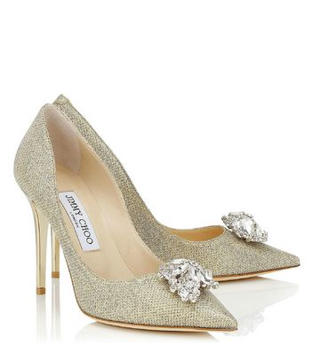Luxury footwear designer Jimmy Choo has a new bridal collection!