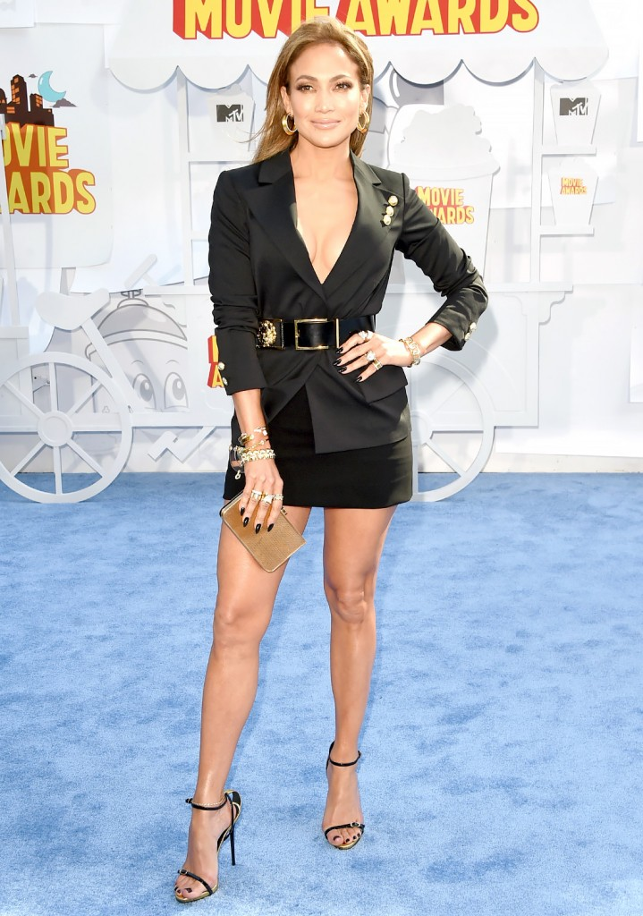 J. Lo. @ MTV Movie Awards 2015