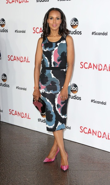 Kerry Washington attends Scandal event in Los Angeles