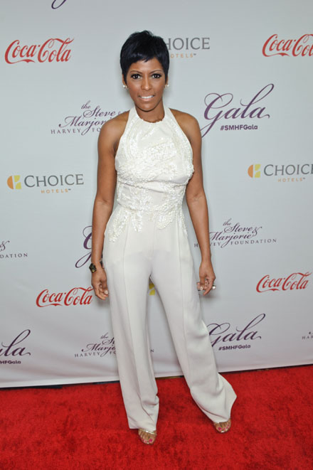 Tamron Hall at the 2015 Steve &  Marjorie Harvey Foundation Gala