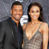 Seattle Seahawk Russell Wilson and girlfriend Ciara on Bridal News You Can Use