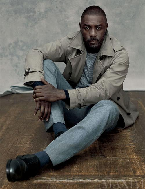 Idris - MAXIM Magazine Photo Shoot