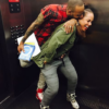 A Couple That Laughs Together? Alicia Keys + Swizz Beatz Horsing Around