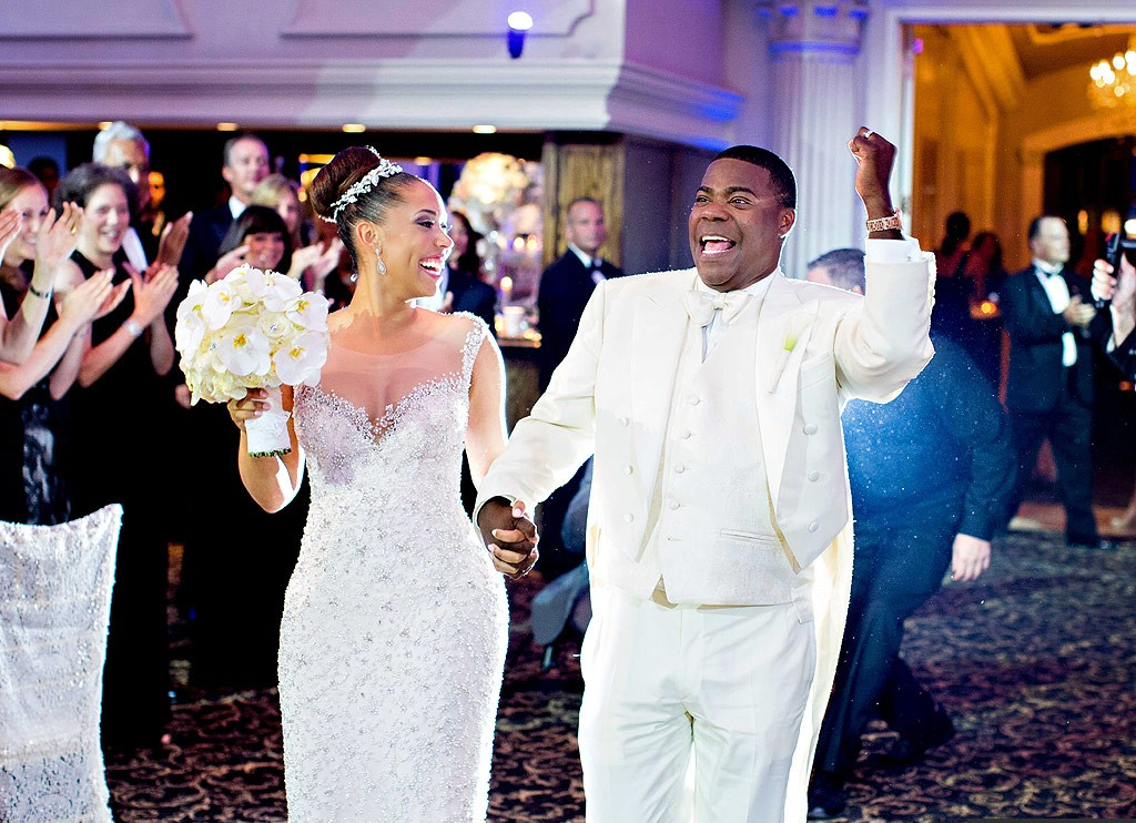 Tracy Morgan and wife Megan Wollover