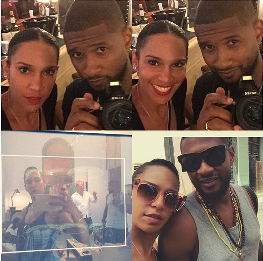 Have Usher and long-time girlfriend Grace Miguel tied the knot?