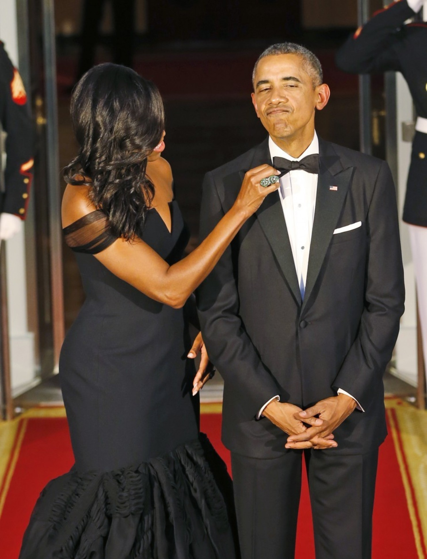 president and first lady obama china state dinner black bridal bliss 1