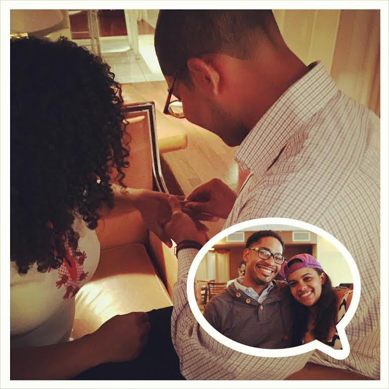 She said yes: We're excited about the latest Triple B engagement!