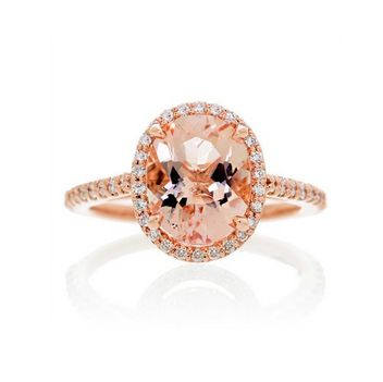 Can you believe this gemstone engagement ring is under $1,000!