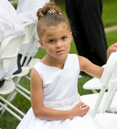 children at weddings black bridal bliss
