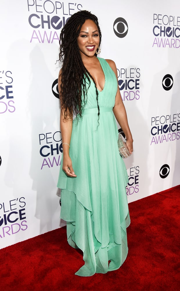 Did Meagan Good rock this frock to the 2016 People's Choice Awards?