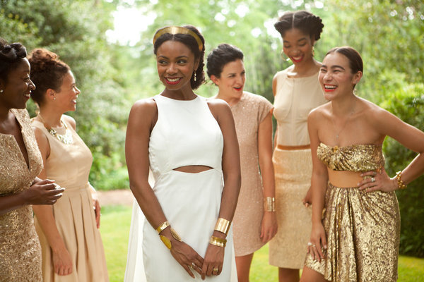 Considering mixing up your bridesmaid gowns? Get inspired here!