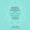 black bridal bliss dc bridal vision board workshop jan 2016