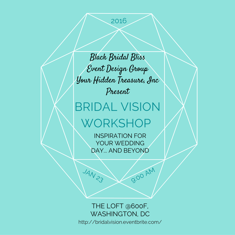 black bridal bliss dc bridal vision board workshop jan 2016