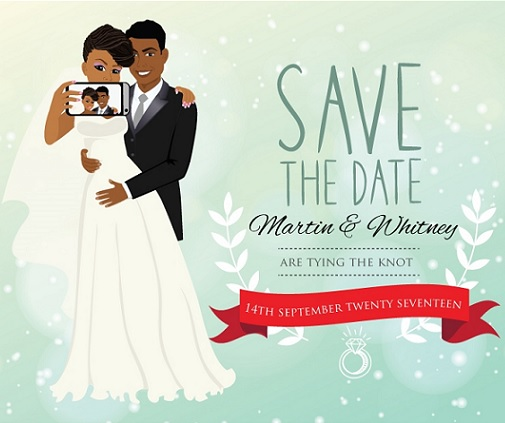 How beautiful are these save the dates?