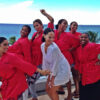 Where My Girls At? Blissful bride Alexis Stoudemire flanked by her beautiful bridal party.