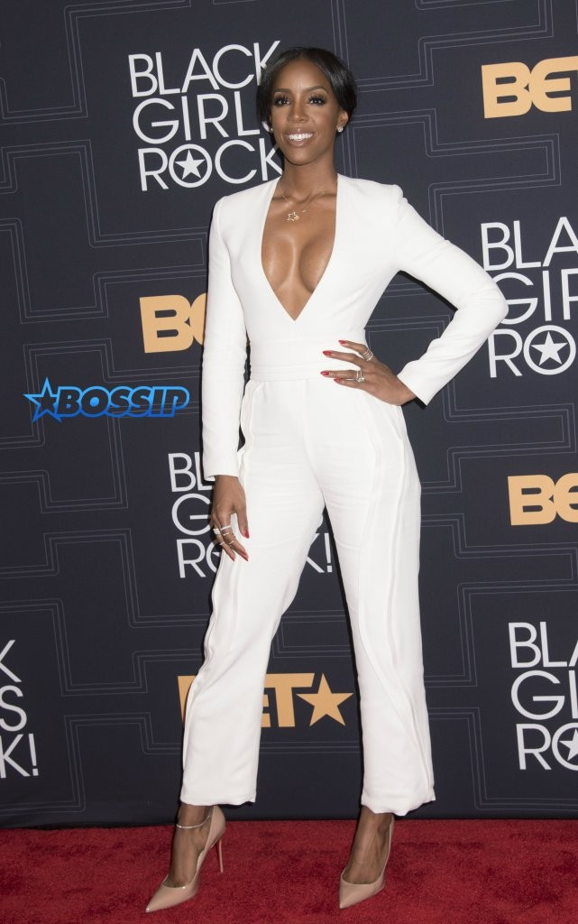 What did you think about Kelly's white jumpsuit at BGR 2016?