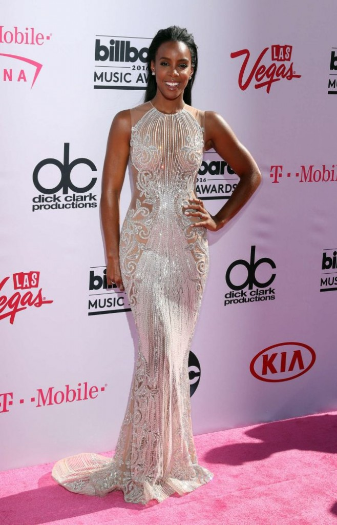Kelly Rowland red carpet
