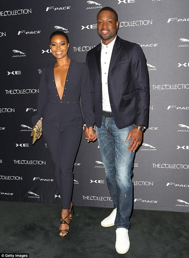 Is it fair to say that Gabrielle and Dwayne are the NBA's best dressed couple?