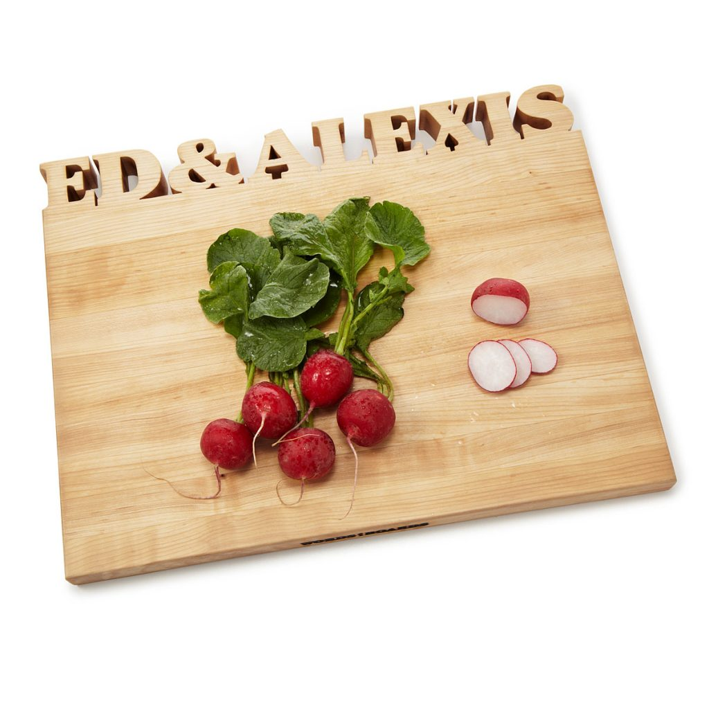 This makes us want to cook! Personalized Cutting Board, $159-$167