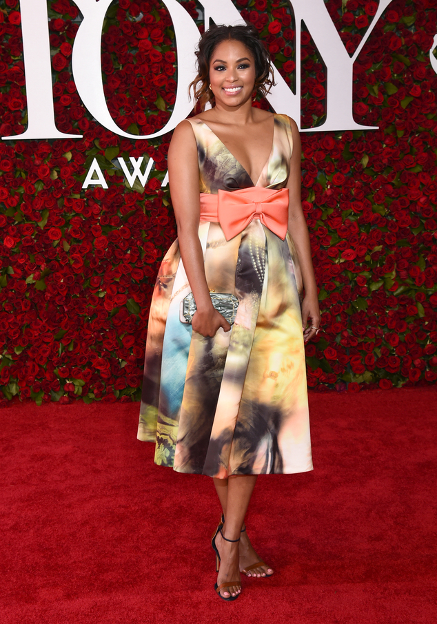 What do you think of Alicia Quarles 2016 TONY look?