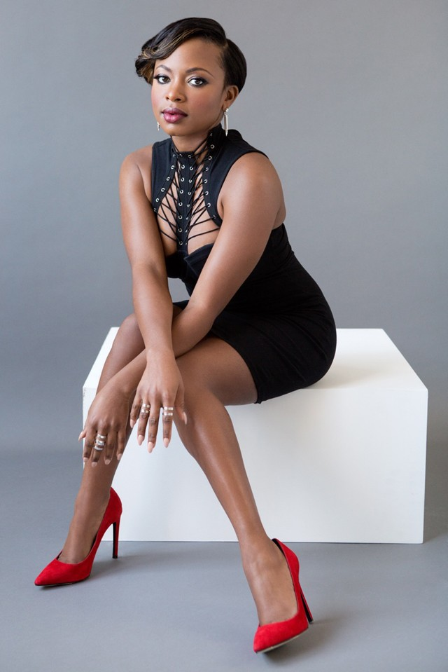 Naturi Naughton shows the POWER of a little black dress.