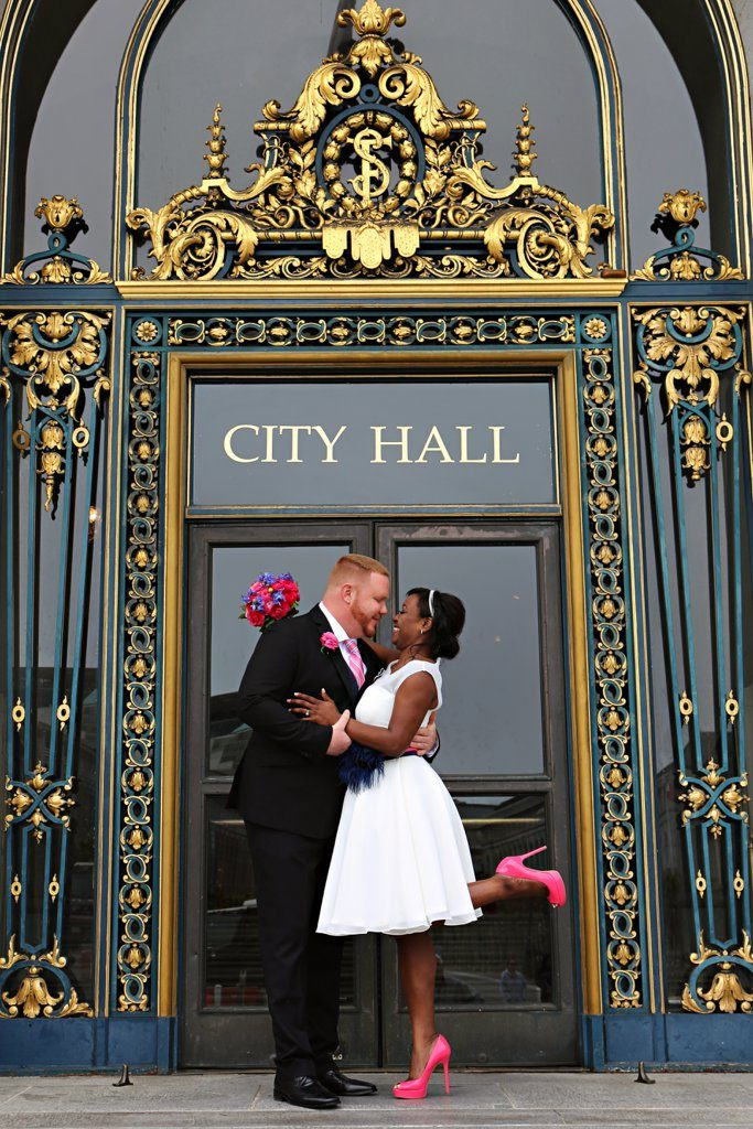 San-Fran-City-Hall-Wedding-BlackBridalBliss