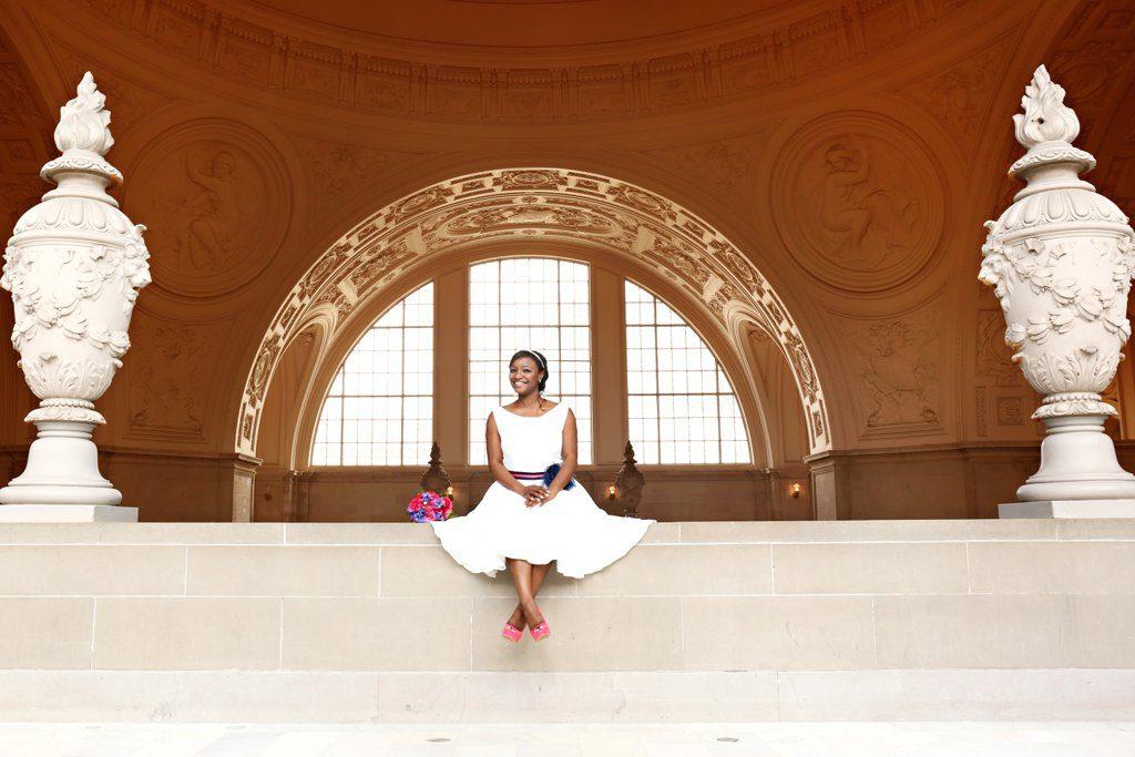 San-Fran-City-Hall-Wedding-BlackBridalBliss.2