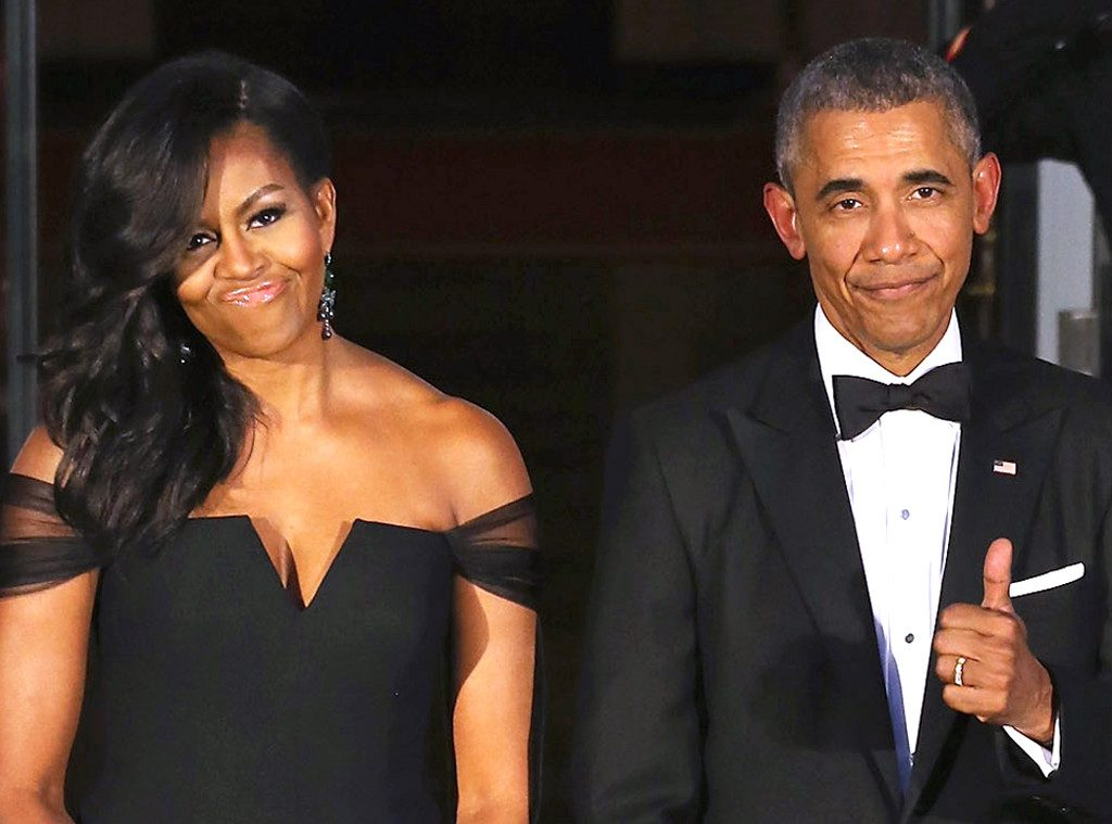 They mad, babe? Yep, they mad. The Obamas enjoying their lives--together--at the 2015 State Dinner.
