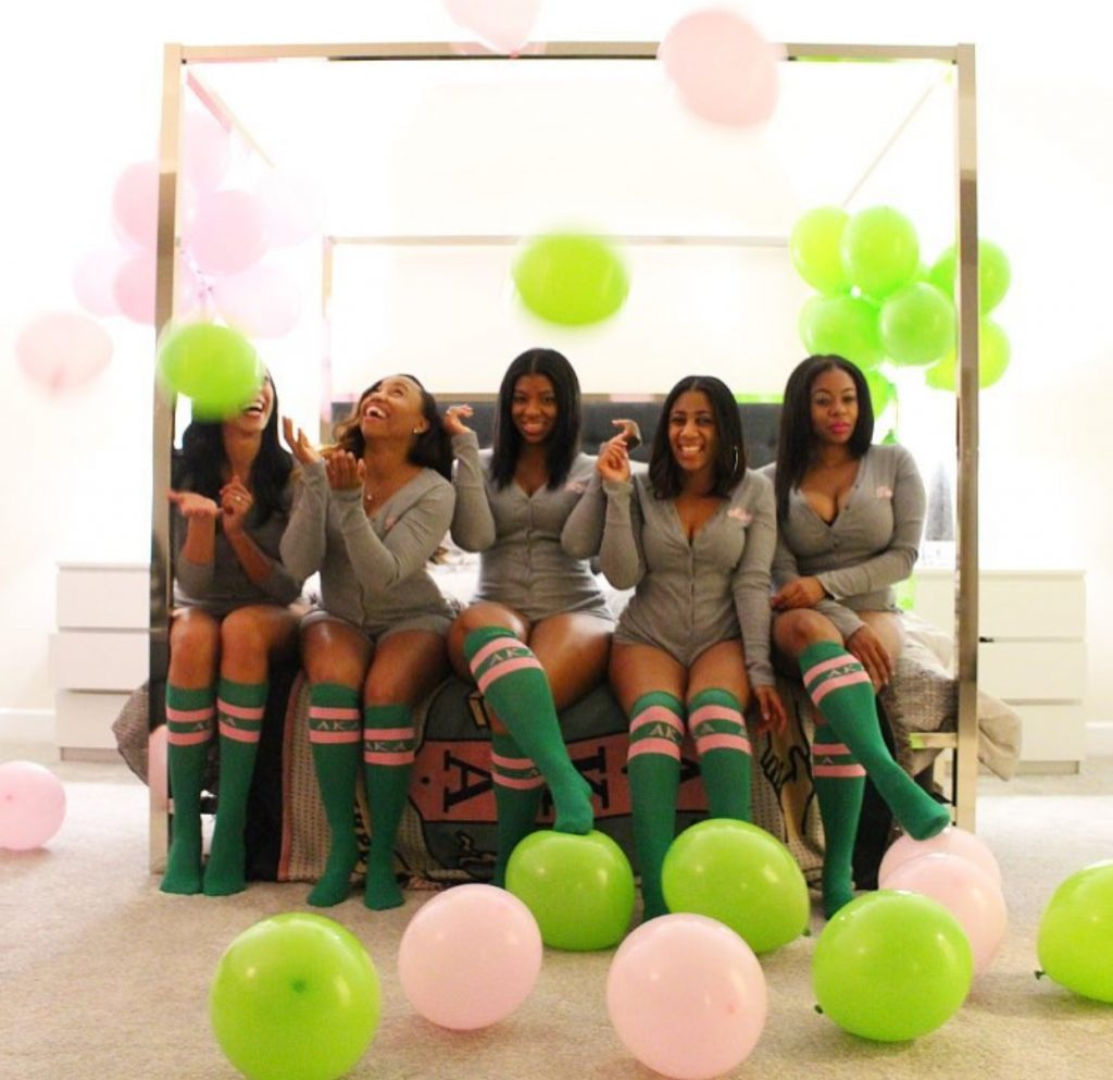 This party is pretty in pink and green!